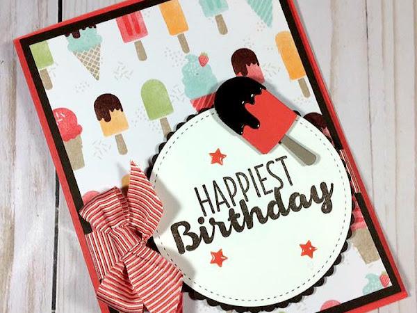 Cool Treats Birthday Card!