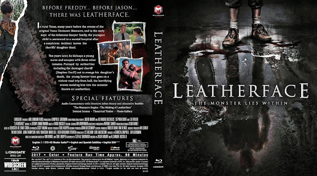Leatherface Bluray Cover