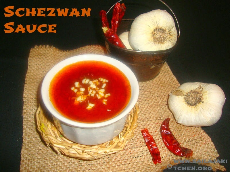 images for Schezwan Sauce / szechuan sauce/Homemade Schezwan Sauce Recipe / How To Make Chinese Schezwan Sauce