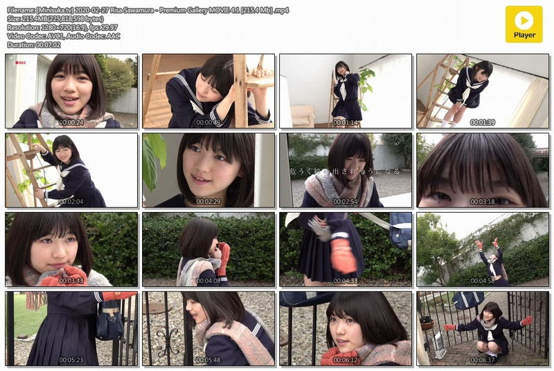 [Minisuka.tv] 2020-02-27 Risa Sawamura – Premium Gallery MOVIE 4.1 [215.4 Mb] 391