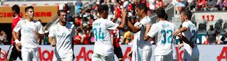 Cronica Real Madrid-Manchester United: Caemos mostrando buenas sensaciones
