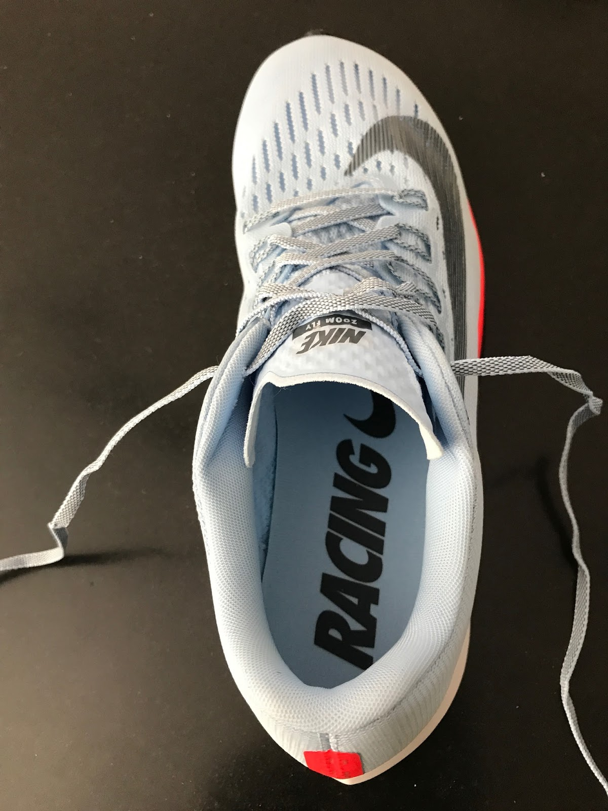 b088e1d36b5 The toe box is of an interesting design and shape. It is relatively narrow  but with very accommodating engineered mesh. The very front almost seems to  widen ...