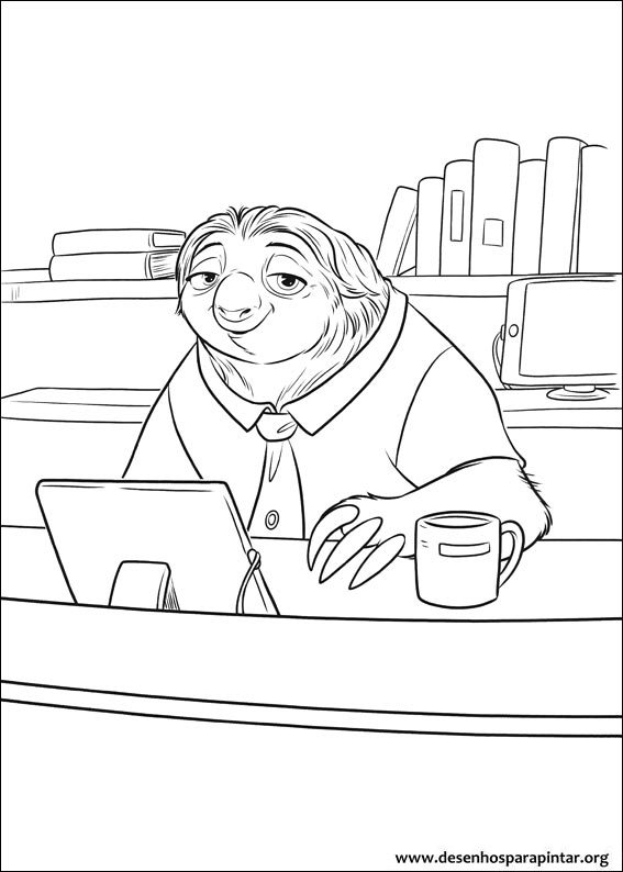 Coloring Pages For Kids Free Images Zootopia Free Coloring Pages