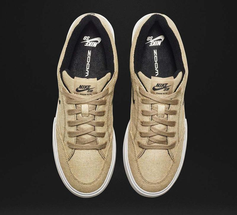 b1f443a5739a7 Nike SB Zoom GTS Premium QS Colorway  Khaki White Black Release DATE  April  16