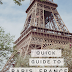 Quick Guide to Paris France