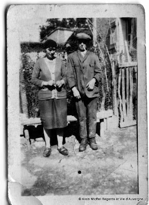 Photos de famille noir et blanc : Couples d'hier.