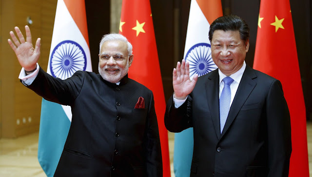 Modi-Xi. India-China.