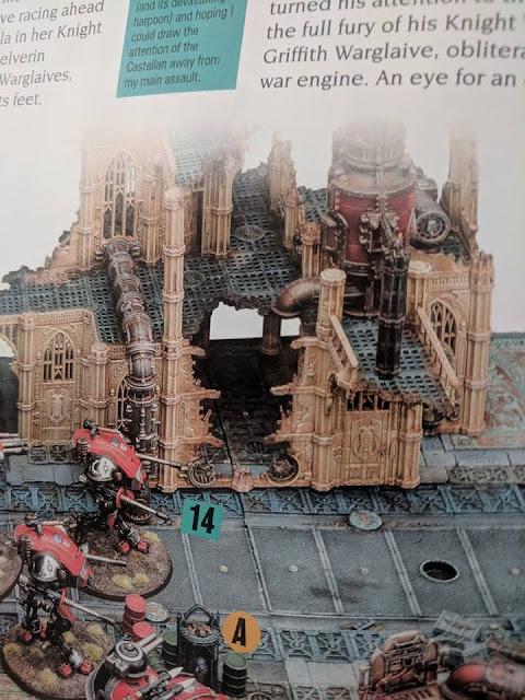 escenografía Warhammer 40.000