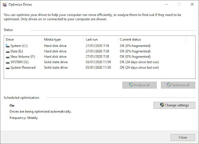 Apa Itu Defrag Disk