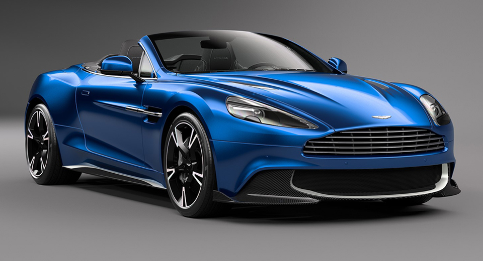 Aston Martin Vanquish S Volante Is Beyond Sexy