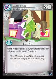 My Little Pony Dance Fever, Dancing Machine High Magic CCG Card