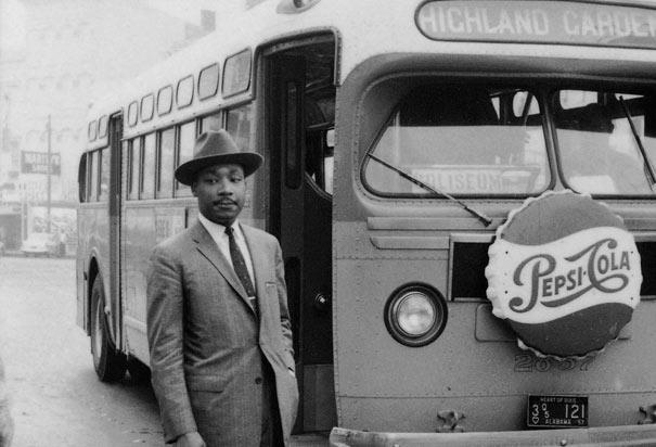 worldimage4u: Montgomery bus boycott - Martin Luther King Jr.