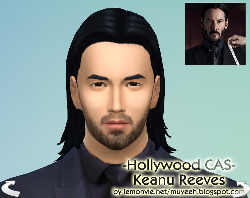 My Sims 4 Cas Keanu Reeves John Wick Imagination Sims 4 Cas