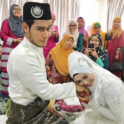 Isteri Hafidz Roshdi, gambar kahwin, gambar kelakar