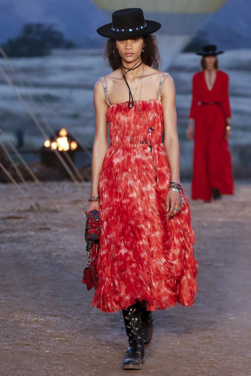 Christian Dior Resort Western Glam May 20 2017 Zsazsa