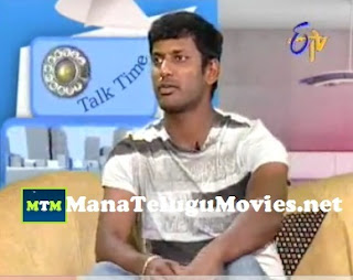 Hero Vishal in Talk Time on Vadu-Veedu Movie