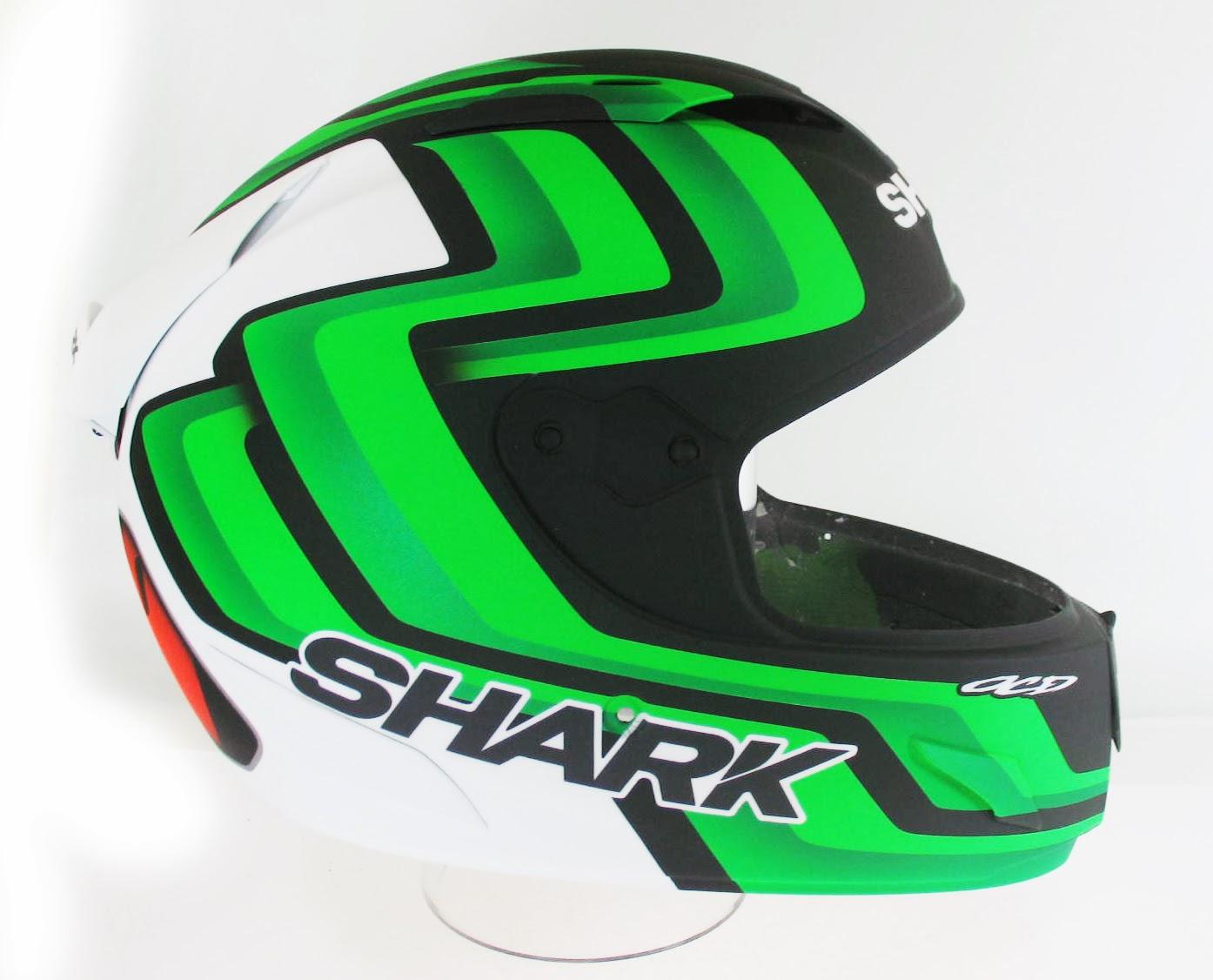 racing helmets garage shark race r pro f foret 2013 by ocd. Black Bedroom Furniture Sets. Home Design Ideas