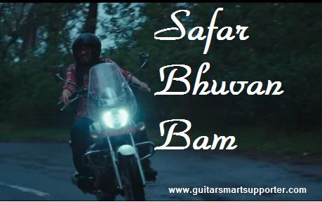 SAFAR BHUVAN BAM (BB KI VINES) SONG ON GUITRAR CHORDS