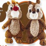 PATRON GRATIS CHIP AND DALE AMIGURUMI 21767