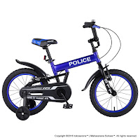 16 Element 911 Police BMX Kids Bike