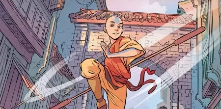 Avatar: The Last Airbender New Trilogy Comic Books Visuals Revealed.