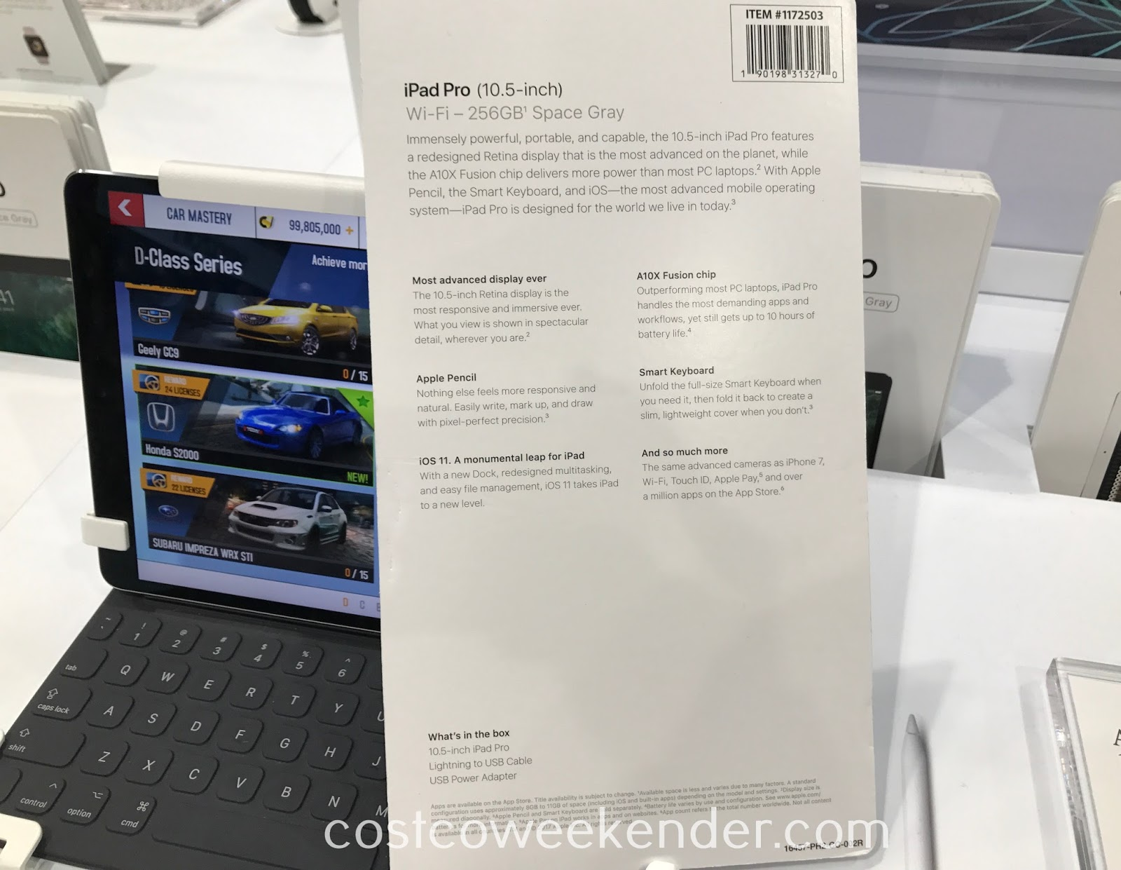 Costco 1172503 - Apple iPad Pro: whether you're working or traveling, you'll find it to be functional yet stylish