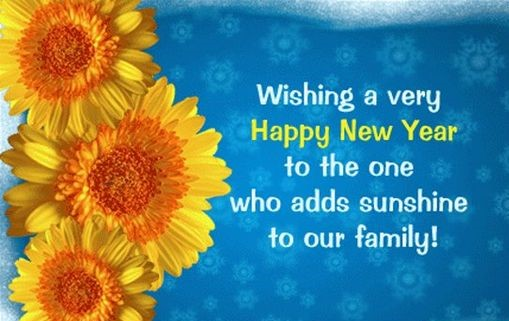 good wishes new year