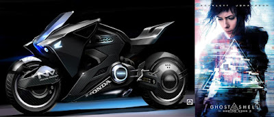 Honda NM4 Vultus 'Ghost In The Shell' (2017) Front Side