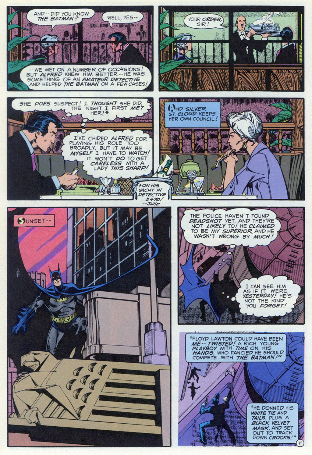 Read online Shadow of the Batman comic -  Issue #3 - 32
