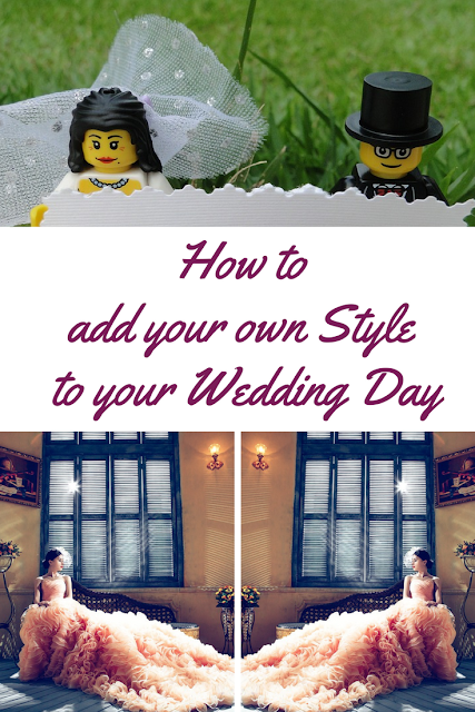add your own style to your wedding day