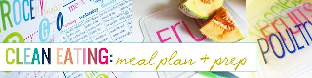 clean eating meal plan and prep