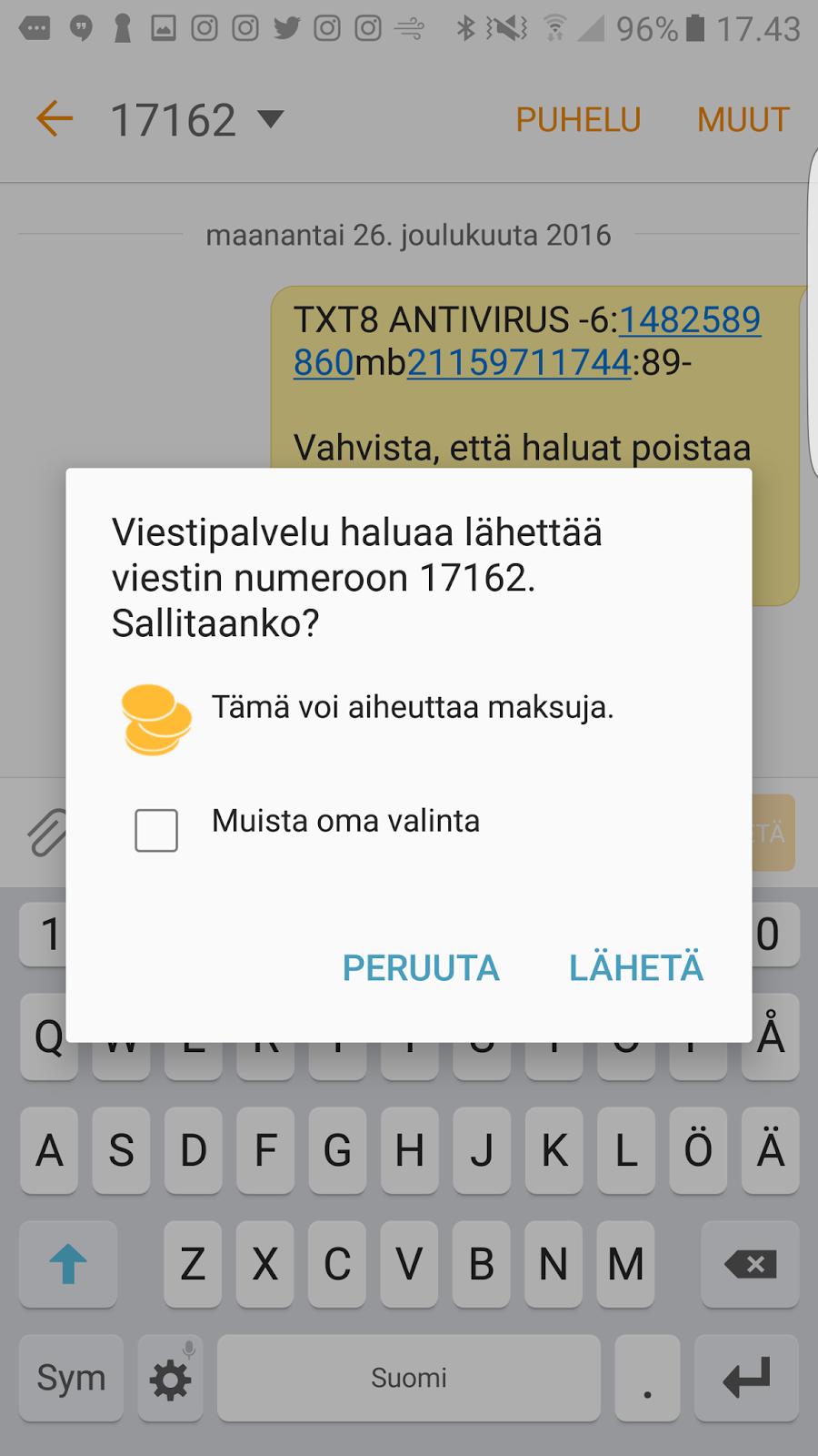 ilmainen tekstiviesti Loviisa