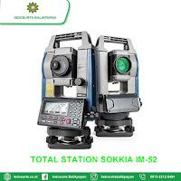 JUAL TOTAL STATION SOKKIA IM-52 BANJARMASIN | HARGA SPESIFIKASI | GARANSI RESMI | FREE TRAINING
