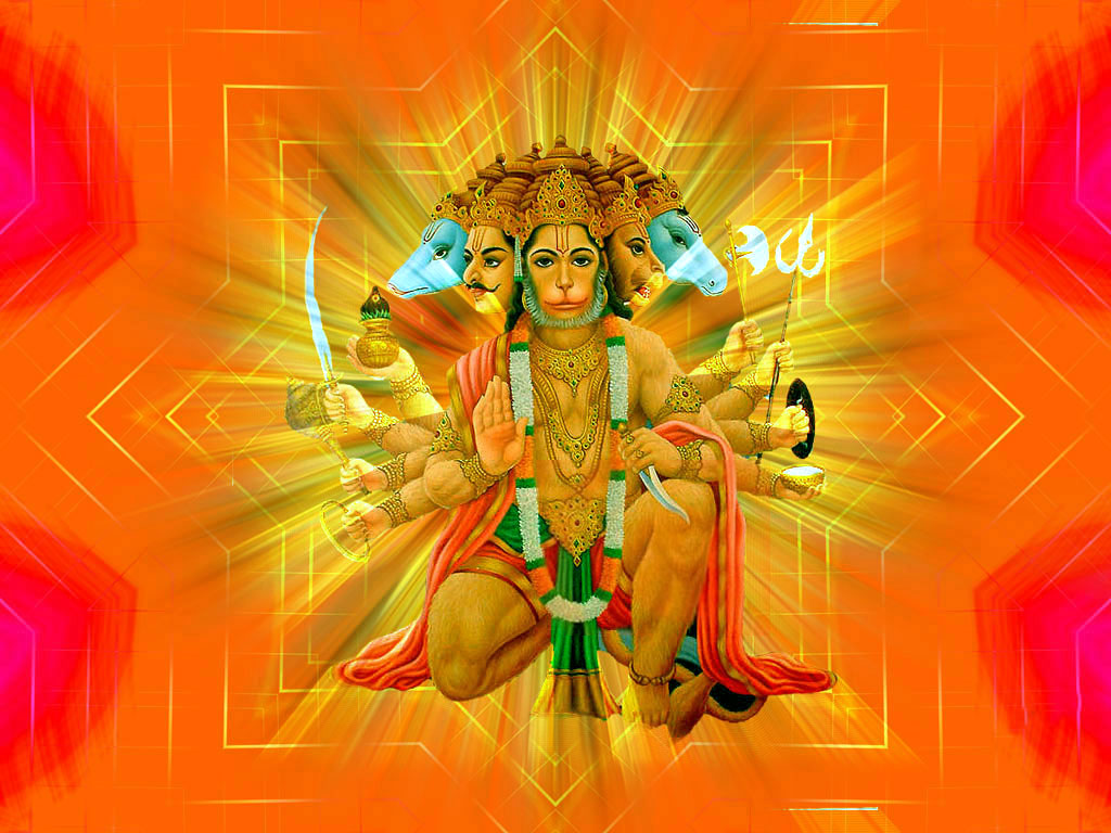 Panchmukhi Hanuman HD Wallpapers | Hindu God HD Wallpapers