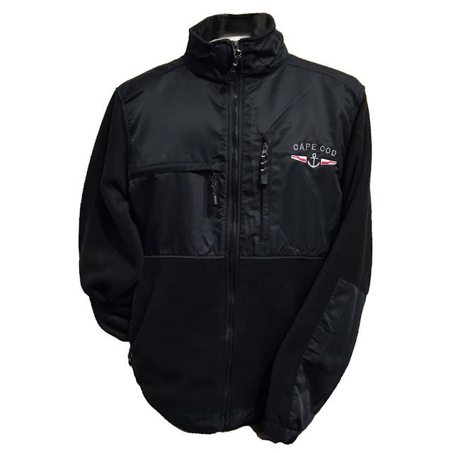Great off-season clothing | Durable & Comfortable Cape Cod Anchor Fleece Jacket