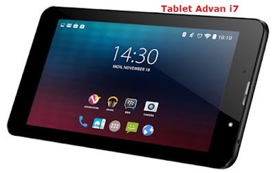 Spek Tablet Advan i7 RAM 2 GB, Tablet 4G LTE 1 Jutaan