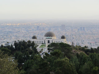 View south toward Griffith Observatory