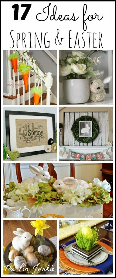 Craft & Decorating Ideas for Spring & Easter