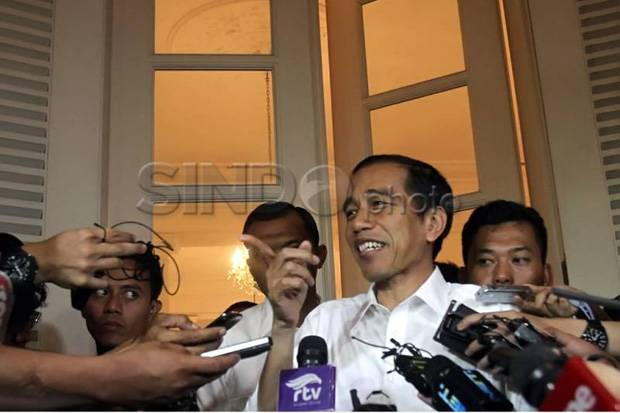 Jokowi: Kasus Novel Tanya ke Kapolri