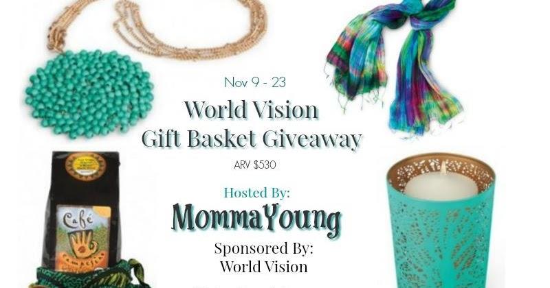 World vision giveaway november 2019