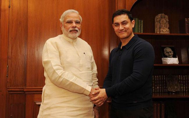Aamir to Modi