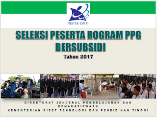 PROGRAM PPG BERSUBSIDI TAHUN 2017