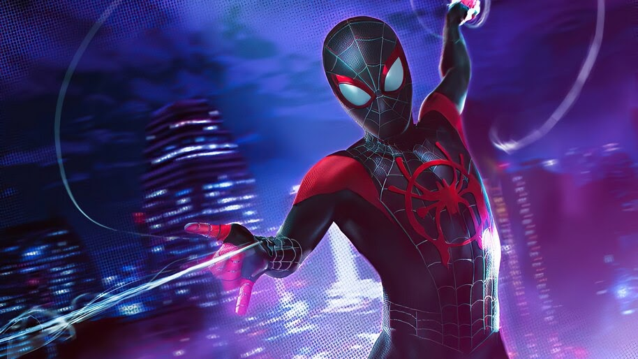 Miles Morales, Spider-Man, Webshoot, 4K, #6.2140