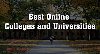 Best Online Colleges and Universities Find Karne ki Jankari