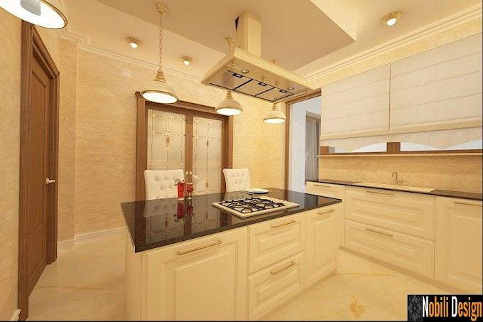 Design interior mobilier bucatarii clasice Constanta - Designer interior case