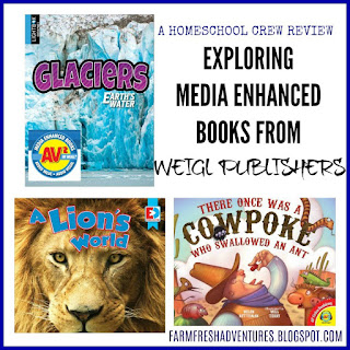 Media Enhanced Books from Weigl Publishers ~ A review