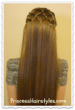Fine Elastic Christmas Tree Hairstyle Hairstyles For Girls Princess Short Hairstyles Gunalazisus