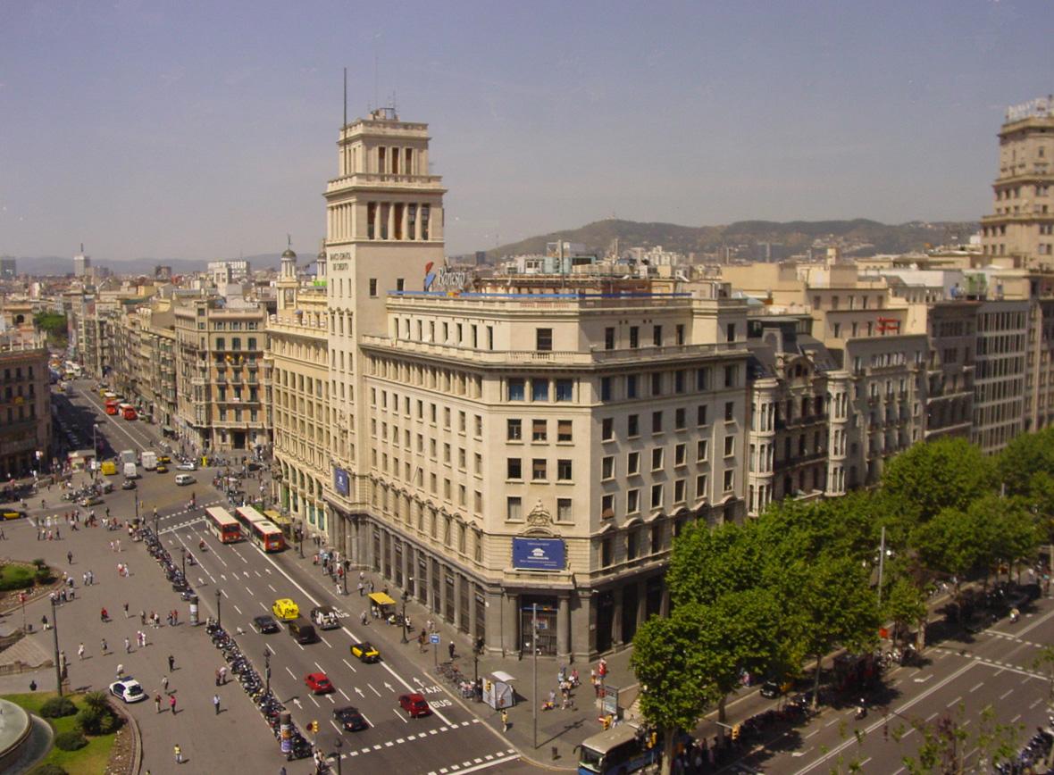 Mis edificios favoritos de barcelona aeroleo for Oficinas western union barcelona