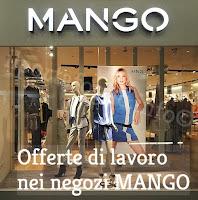 offerte di lavoro negozi mango