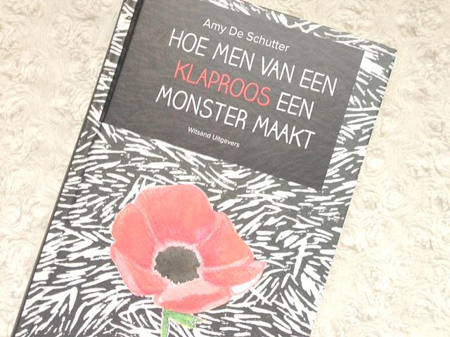 boek recensie hoe men van een klaproos een monster maakt amy de schutter